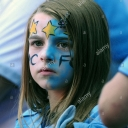 تصویر Blue man