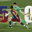 تصویر Messi iniesta