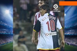 اولین گل سرخیو آگوئرو برای اتلتیکو مادرید (17 سپتامبر، 2006) / فیلم