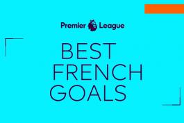 بهترین گل های بازیکنان فرانسوی لیگ برتر انگلیس / فیلم