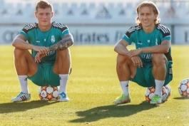 حضور دوباره زوج کروس - مودریچ در ترکیب رئال مادرید پس از 147 روز