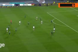 خلاصه بازی آرژانتین 3-0 بولیوی (مقدماتی جام جهانی 2022)