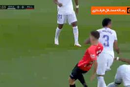 گل کریم بنزما به مایورکا (رئال مادرید 1-0 مایورکا)