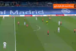 گل دوم آسنسیو به مایورکا (رئال مادرید 3-1 مایورکا)