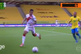 گل های بازی برزیل 2-0 پرو (مقدماتی جام جهانی 2022)