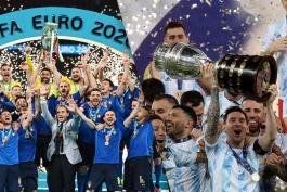 قهرمانی ایتالیا - قهرمانی آرژانتین