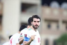 خوش یمن مثل بازوبند کاپیتانی تیم ملی ایران
