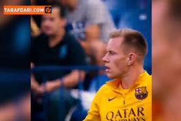 پلی به گذشته - اولین بازی مارک آندره تراشتگن برای بارسلونا در لالیگا (2015/9/13) / فیلم