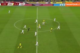 خلاصه بازی سوئد 2-1 اسپانیا (مقدماتی جام جهانی 2022)