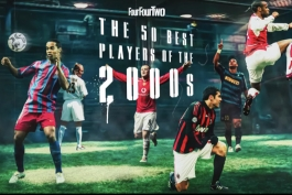 پنجاه بازیکن برتر دهه 2000 از نگاه مجله Four Four Two