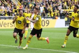 پیروزی دورتموند مقابل آگزبورگ