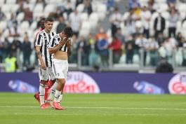 حضور پائولو دیبالا در بازی مقابل آاس رم