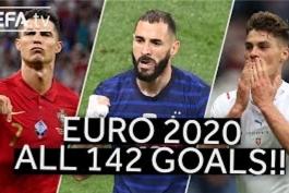 تمام گل های یورو 2020 / دانلود