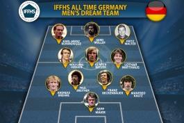 تیم برتر تاریخ فوتبال آلمان