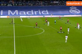 خلاصه بازی رئالمادرید 0-0 اوساسونا (لالیگا - 2021/22)