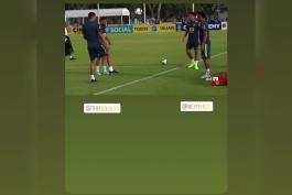 پاریسی ها در اردو تیم ملی برزیل.(کلیپ کوتاه)