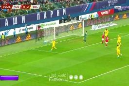 گل های بازی بلژیک 4-1 روسیه؛ مقدماتی یورو 2020