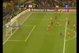 شب مرگ فوتبال در سال 2010، بازی بارسلونا-اینتر