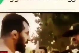 دعوای داش وحید مرادی عقاب ایران