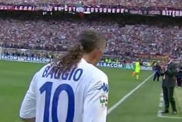 خداحافظی باشکوه روبرتو باجو در استادیوم جذپه مه اتزا شهر میلان