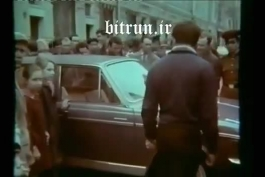 پیکان در مسکو// پیکان ایرانی در خیابانهای شوروی