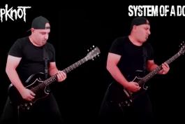Slipknot VS System Of A Down (Guitar Riffs Battle)