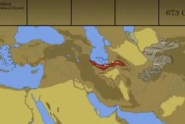 نقشه ایران از 2700 سال قبل از میلاد تا اکنون