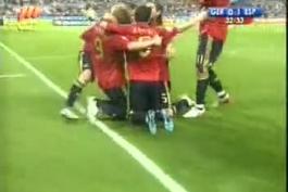 گل فینال یورو ۲۰۰۸ (گزارش عادل فردوسی پور)*