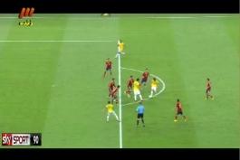 گل زیبای نیمار به اسپانیا (گزارش عادل فردوسی پور) فینال ۲۰۱۳