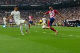 مارتینز مونورا در بازی مادرید با آتلیکو !