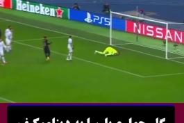 گل چهارم بارسلونا به دیناموکیف