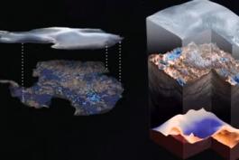 آتلانتیس و اسرار اهرام قطب جنوب در نقشه یک پیرمرد