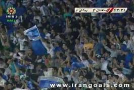 سوپر گل ایسگاهیه  کریستیانو میداوودی زیباترین ایستگاهی تاریخ لیگ ایران