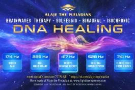 آلایا ویدیوی مدیتیشن درمان DNA دی ان ای - PLEIADIAN ALAJE - DNA HEALING MEDITATION Video