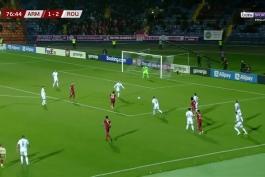 خلاصه بازی ارمنستان 3-2 رومانی (انتخابی جام جهانی 2022)