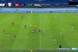 خلاصه بازی آرژانتین شیلی