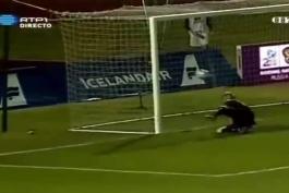 کاشته دیدنی رونالدو به ایسلند دورمقدماتی یورو ۲۰۱۲