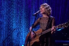 ویدیو اجرای زنده و احساسی تیلور سوئیفت  Taylor Swift - Mine (Live ellen)