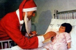 وقتی زیدان بابا نوئل می شود! (عکس)