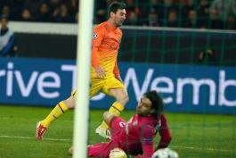 لیگ قهرمانان: پاریس سن ژرمن 2 - 2 بارسلونا؛ گزارش تصویری