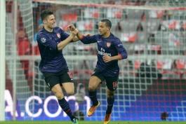 بایرن مونیخ 0 - 2 آرسنال (گزارش تصویری)