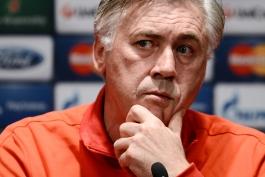 آنجلوتی: از نتیجه بازی راضی نیستم؛ ۲ گل را به آن ها هدیه دادیم