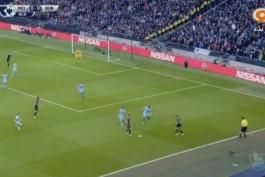 خلاصه بازی منچستر سيتی 2-2 برنلی