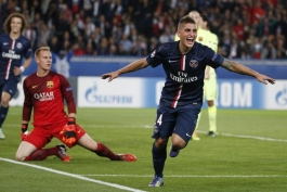 گل های بازی پاريس سن ژرمن 3-2 بارسلونا