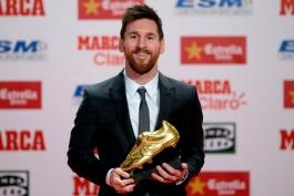 Lionel Messi - Gloden Shoes - FC Barcelona - بارسلونا - کفش طلا