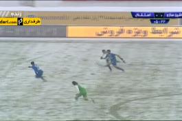 لیگ برتر خلیج فارس - زمین برفی