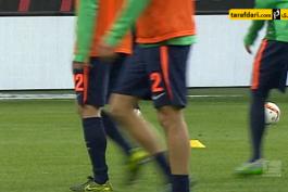 ویدیو؛ حرکت تماشایی بازیکن وردربرمن  هنگام گرم کردن پیش از بازی با وولفسبورگ