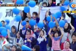 خلاصه بازی افغانستان 0-6 ژاپن