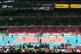 ویدیو؛ والیبال انتخابی المپیک - ایران 3 -0 استرالیا