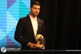 گزارش تصویری؛ مراسم برترین های فوتبال ایران